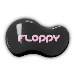 Cepillo Flopy Negro - Rosa